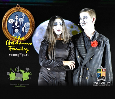 The Addams Family Musical Comedy young@part production