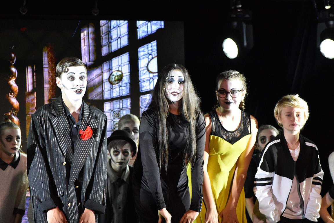 The Addams Family Musical Comedy young@part production  : Image 15