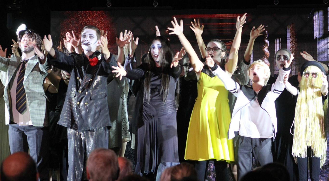 The Addams Family Musical Comedy young@part production  : Image 31