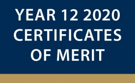 Year 12 2020 SCSA Certificates of Merit