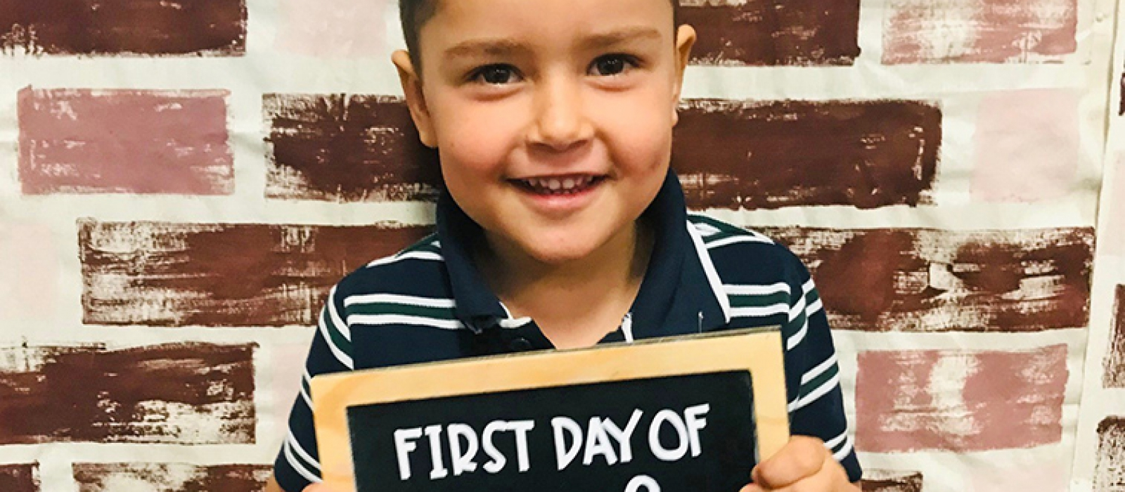First Day Kindy Blue