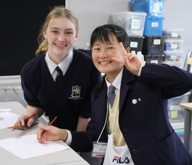 Japanese Exchange Students
