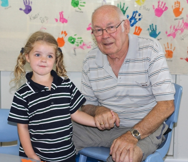 Kindergarten Grandparents Day 2015