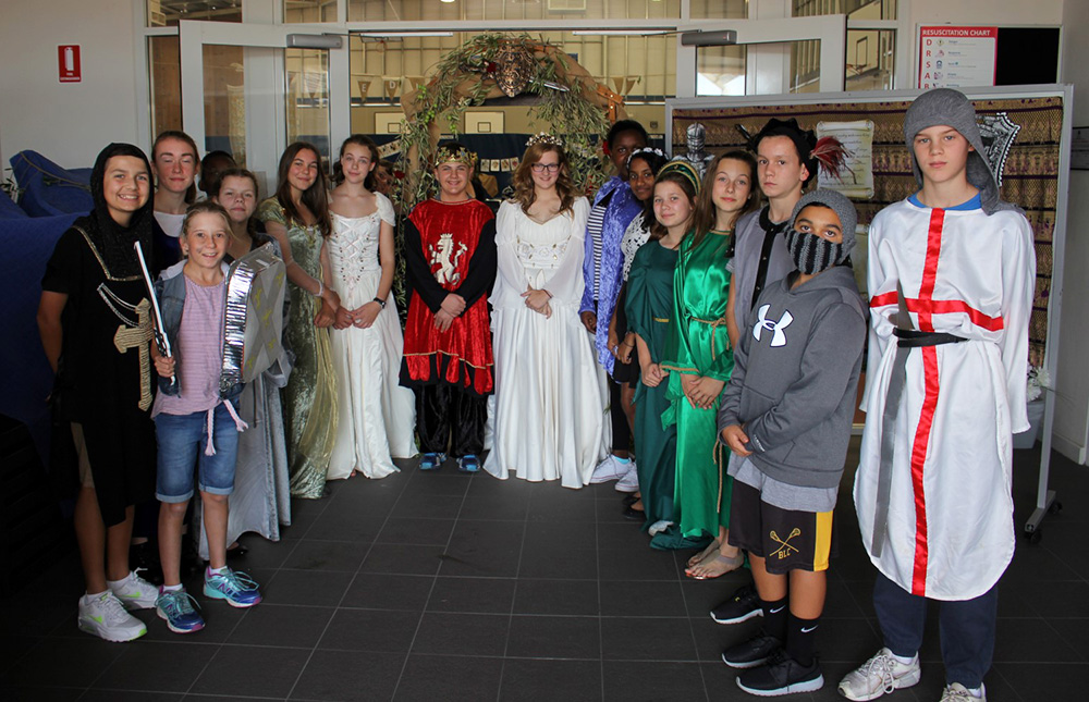 Medieval Day at SVACS : Image 11