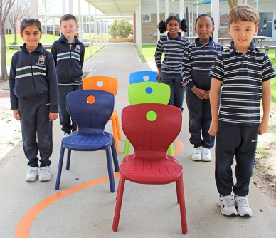 New chairs and tables for Years 1 & 2
