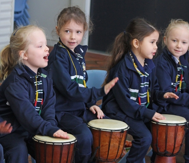 Pre-Primary African Drumming