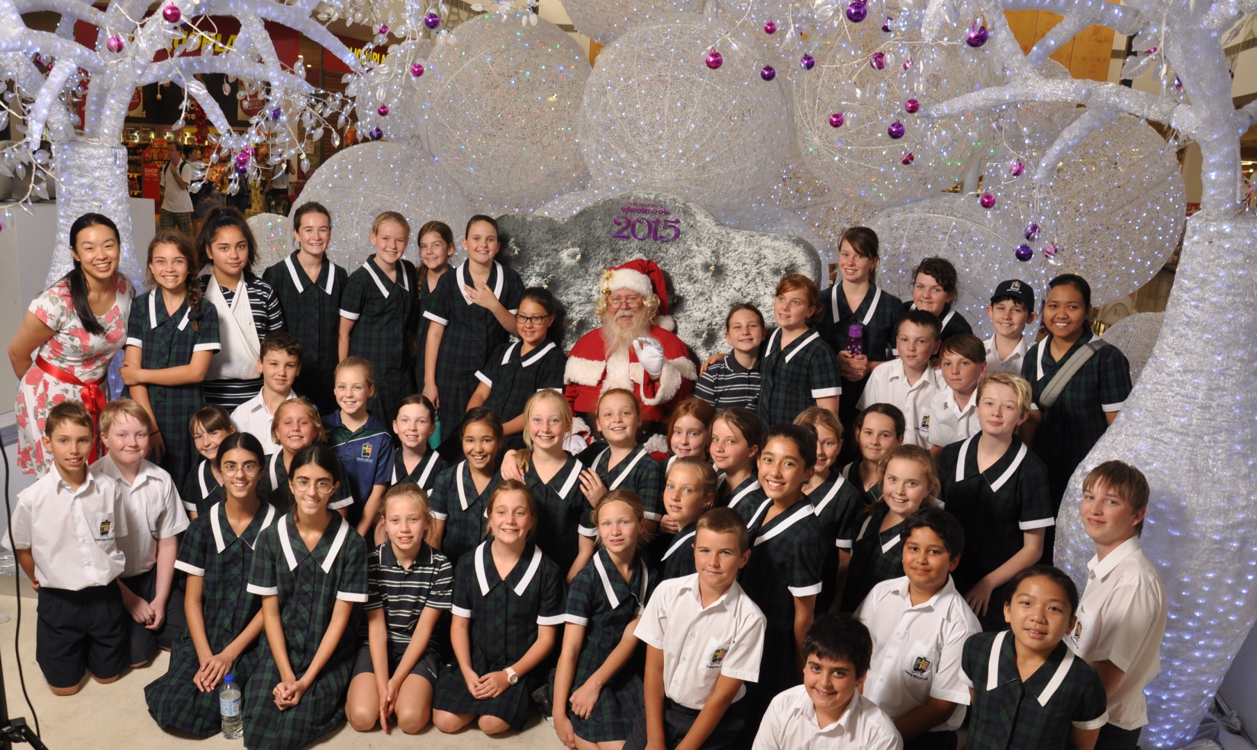 Swan Valley ACS Choir spread festive cheer at Shops at Ellenbrook