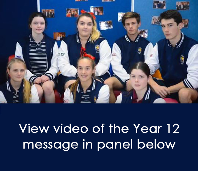 Year 12 Message for Ms Powell