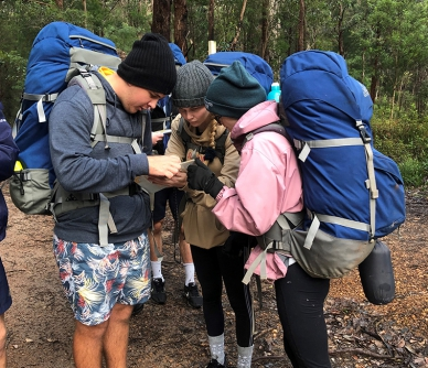 Year 12 Outdoor Ed hiking Expedition