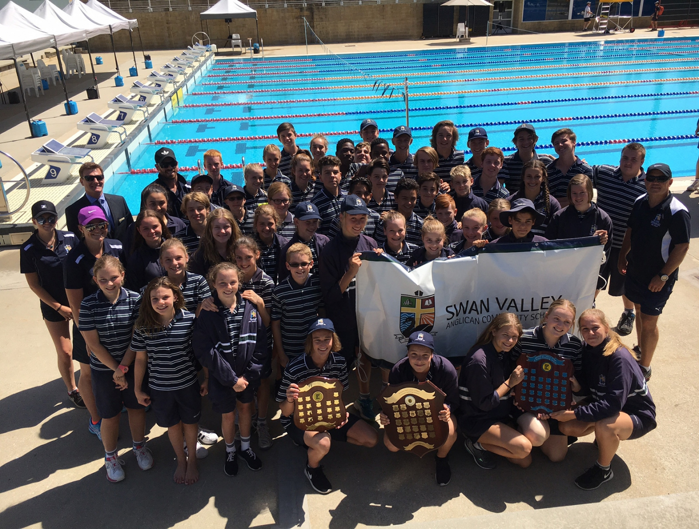 ACC swimming carnival team
