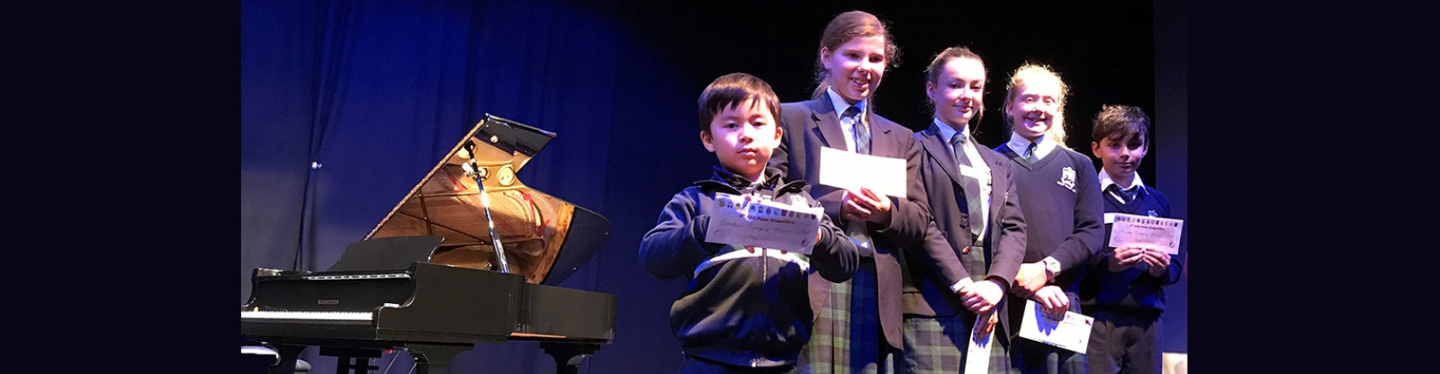 SVACS success at the ASC Piano Competition