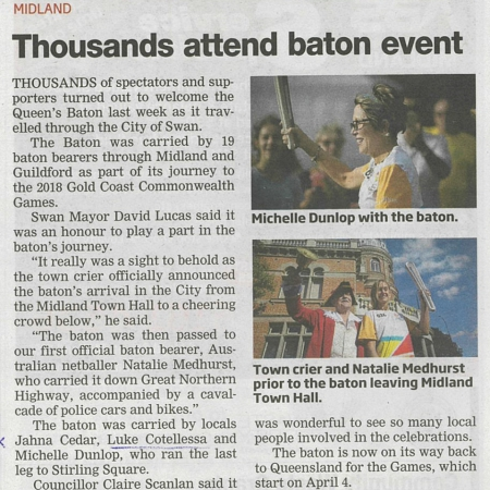 Thousands attend baton event-Advocate-7.03.18
