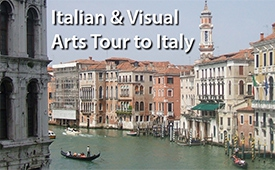 Italian & Visual Arts Tour to Italy 2019