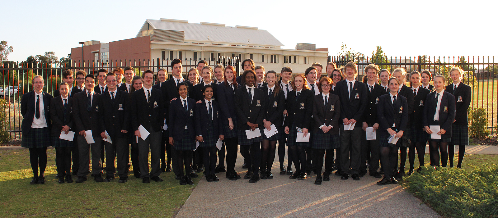 Year 12 students on Valedictory Day 2015