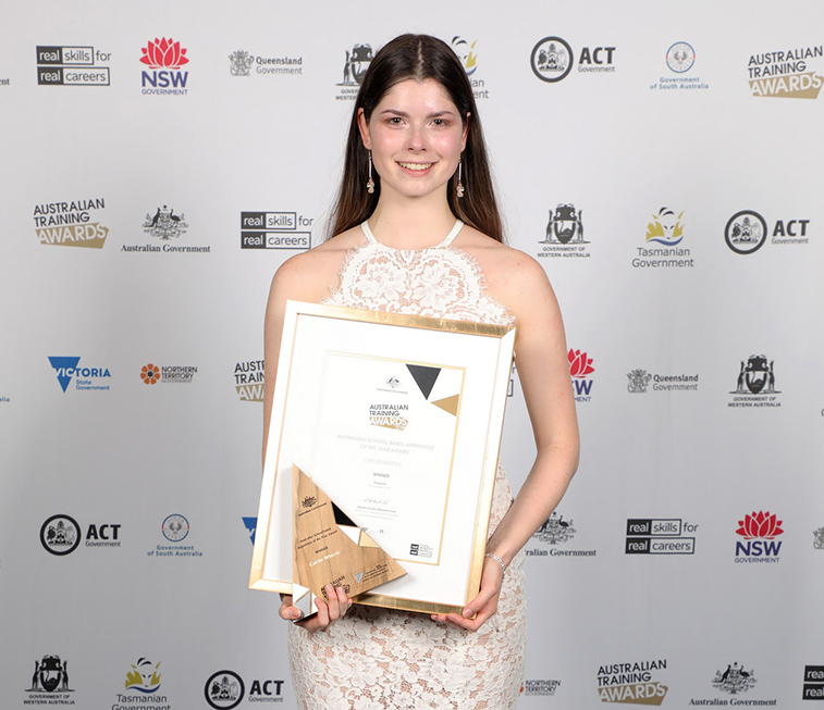 Australian School Based Apprentice of the year! : Image 2
