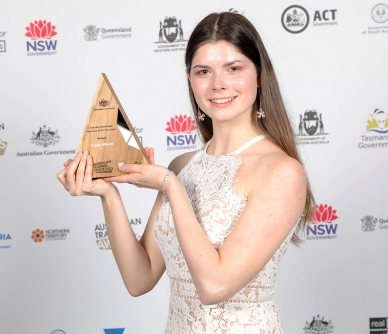 Australian School Based Apprentice of the year!