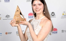 Australian School Based Apprentice winner 2018