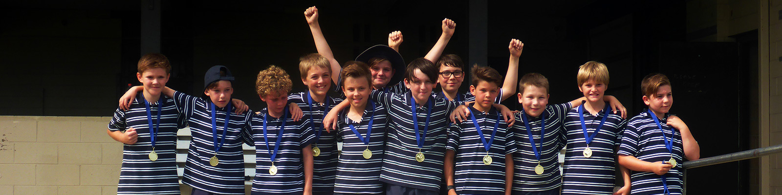 Y5 Touch Rugby Carnival champions