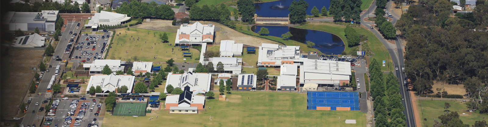 Aerial photo of Swan Valley Anglican Community School